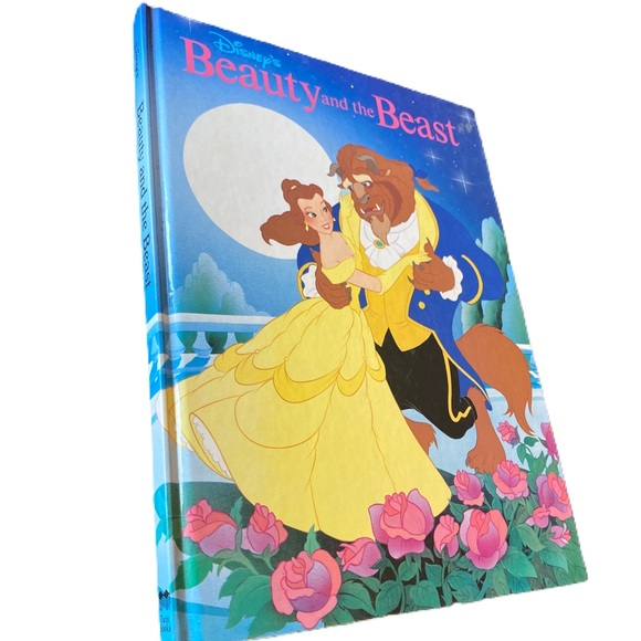 Disney beauty and the beast hard cover